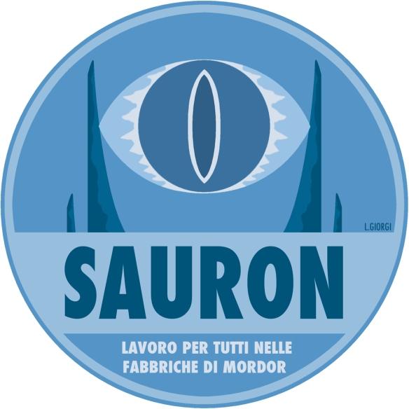 Sauron logo politico